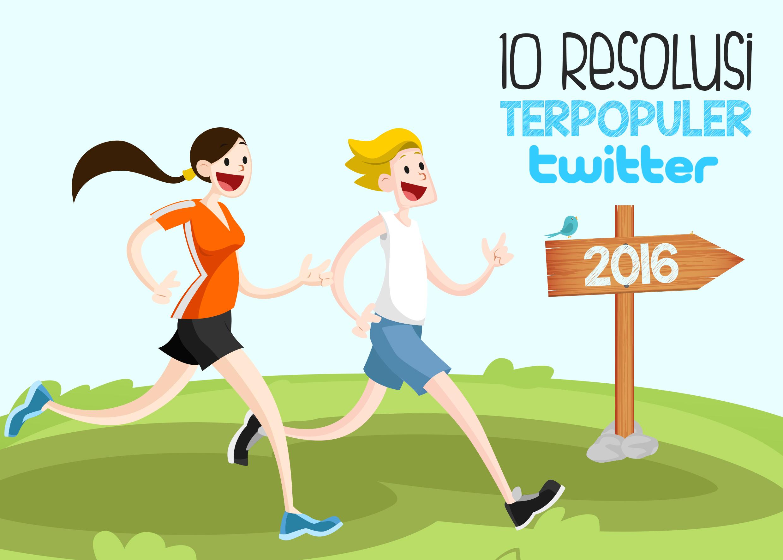 10 resolusi terpopuler