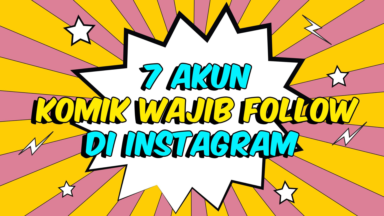 politwika _ 7 akun komik wajib follow di instagram