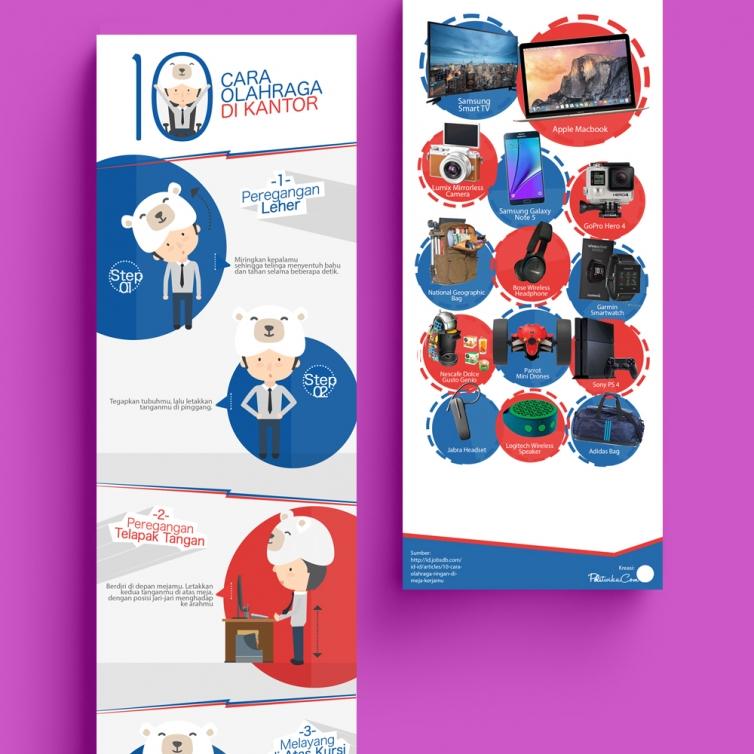 Infografis Bear Brand